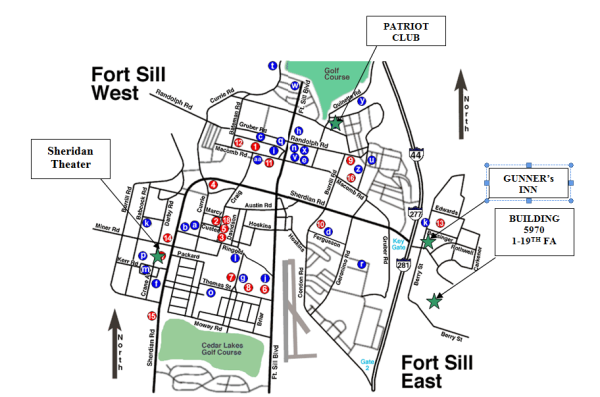 Fort Sill Graduation Information  Maps